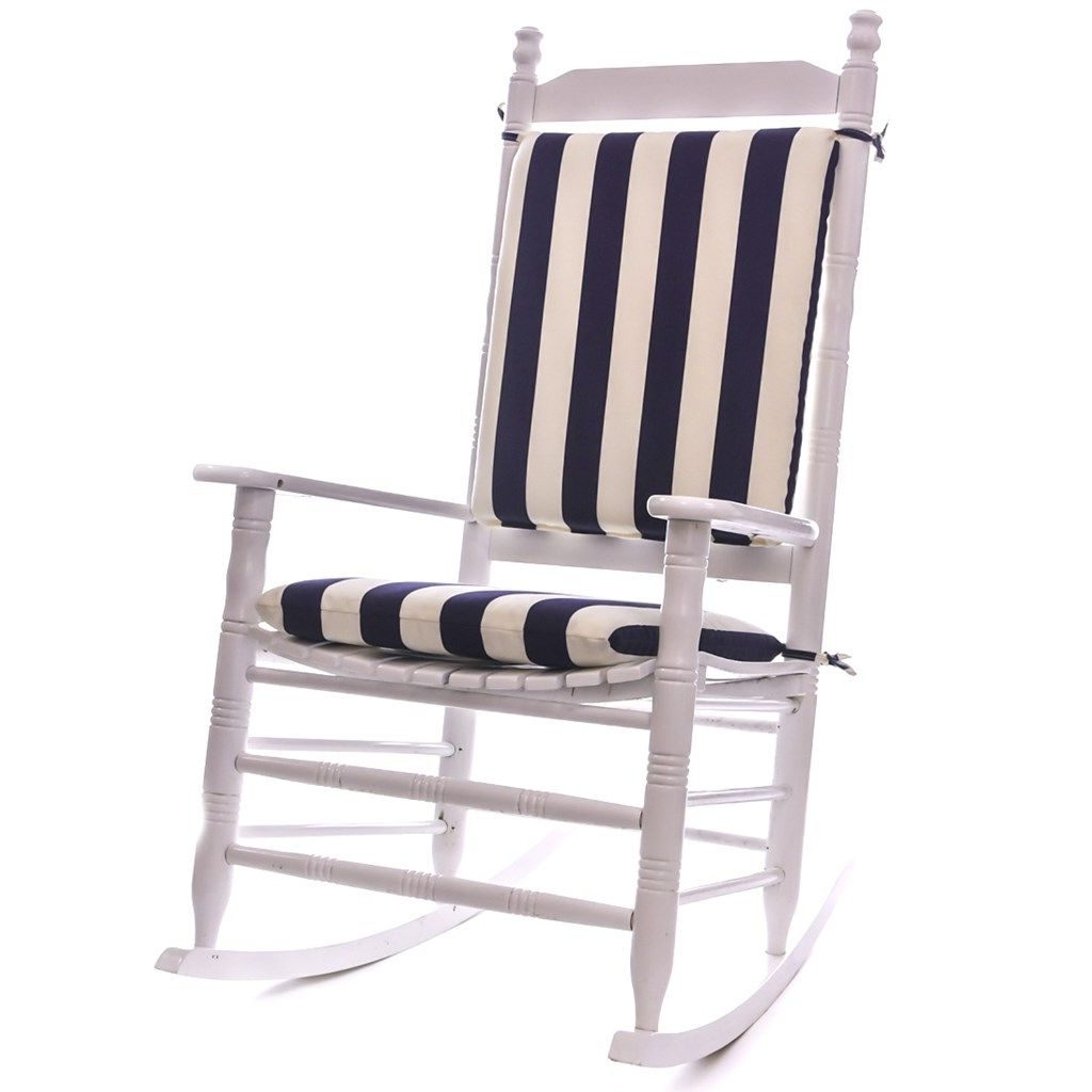 Most Recent Patio Rocking Chairs With Cushions Inside Cool Great Outdoor Rocking Chair Cushions 76 With Additional (View 2 of 20)