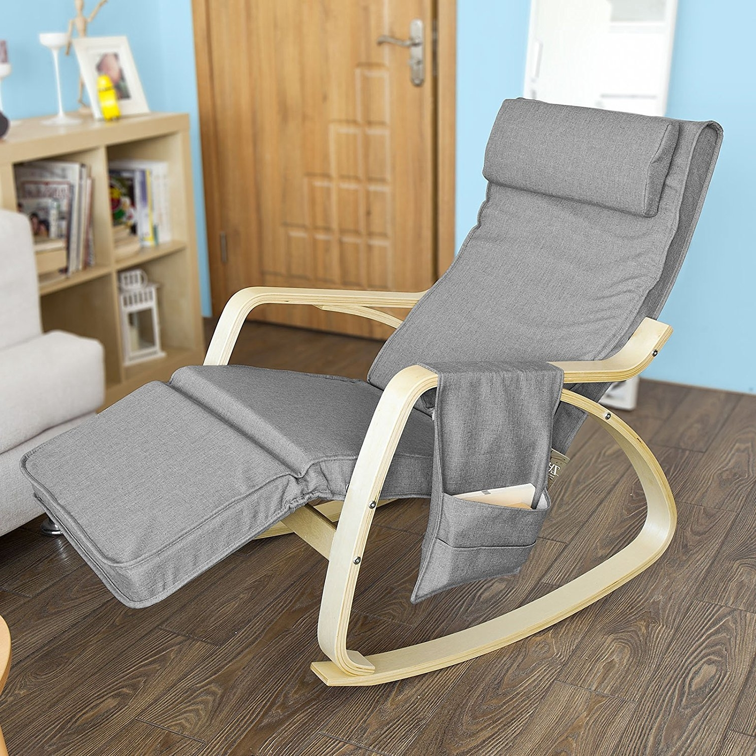Most Recent Rock Away Back Pain Using Rocking Chairs/inversiontableplus With Regard To Rocking Chairs With Footrest (View 6 of 20)