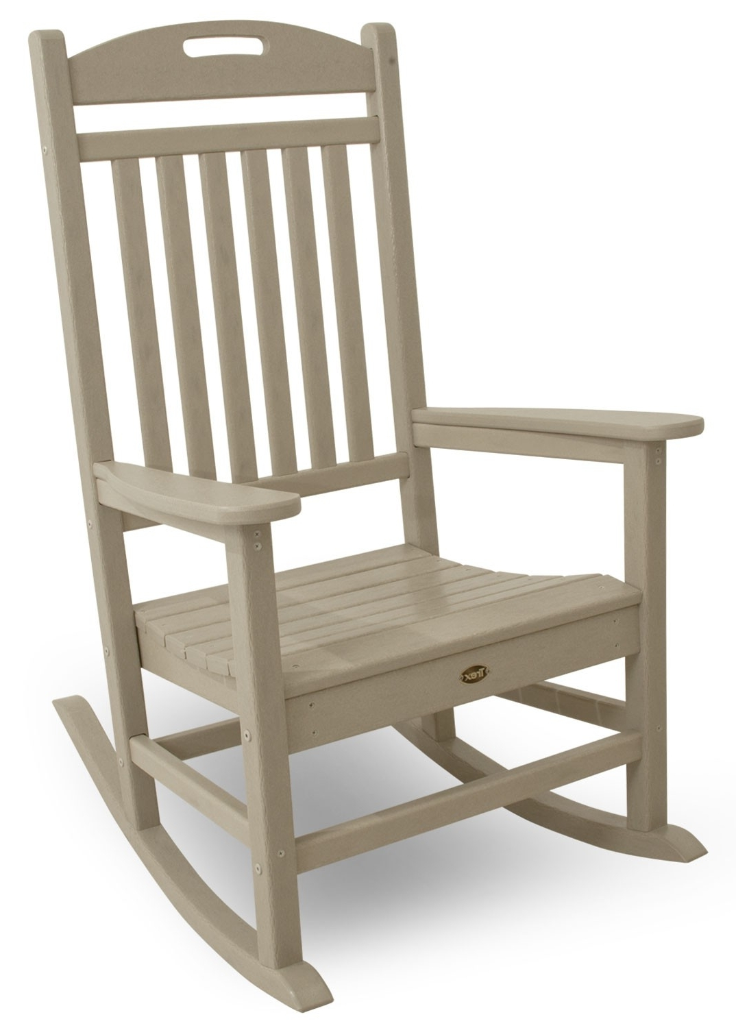 Most Recent Rocking Chair Outdoor Wooden Pertaining To Yacht Club Rocking Chair (View 12 of 20)