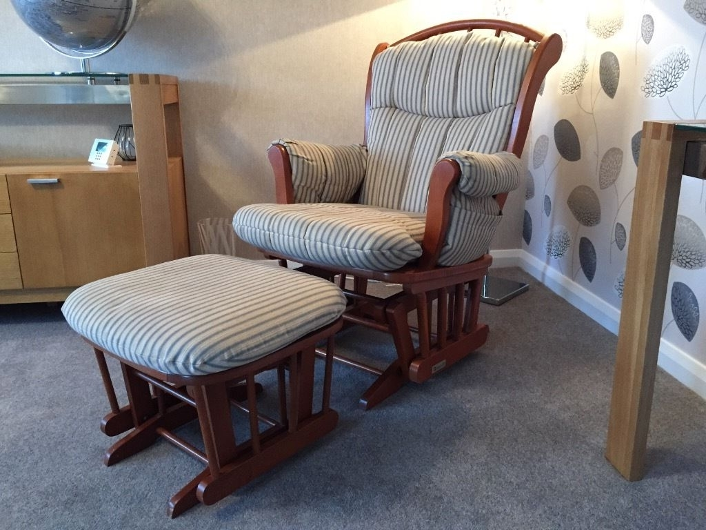 Most Recent Rocking Chairs With Footstool Inside Dutailier Rocking Chair #dcec777B0C50 – Draxysoft (View 9 of 20)