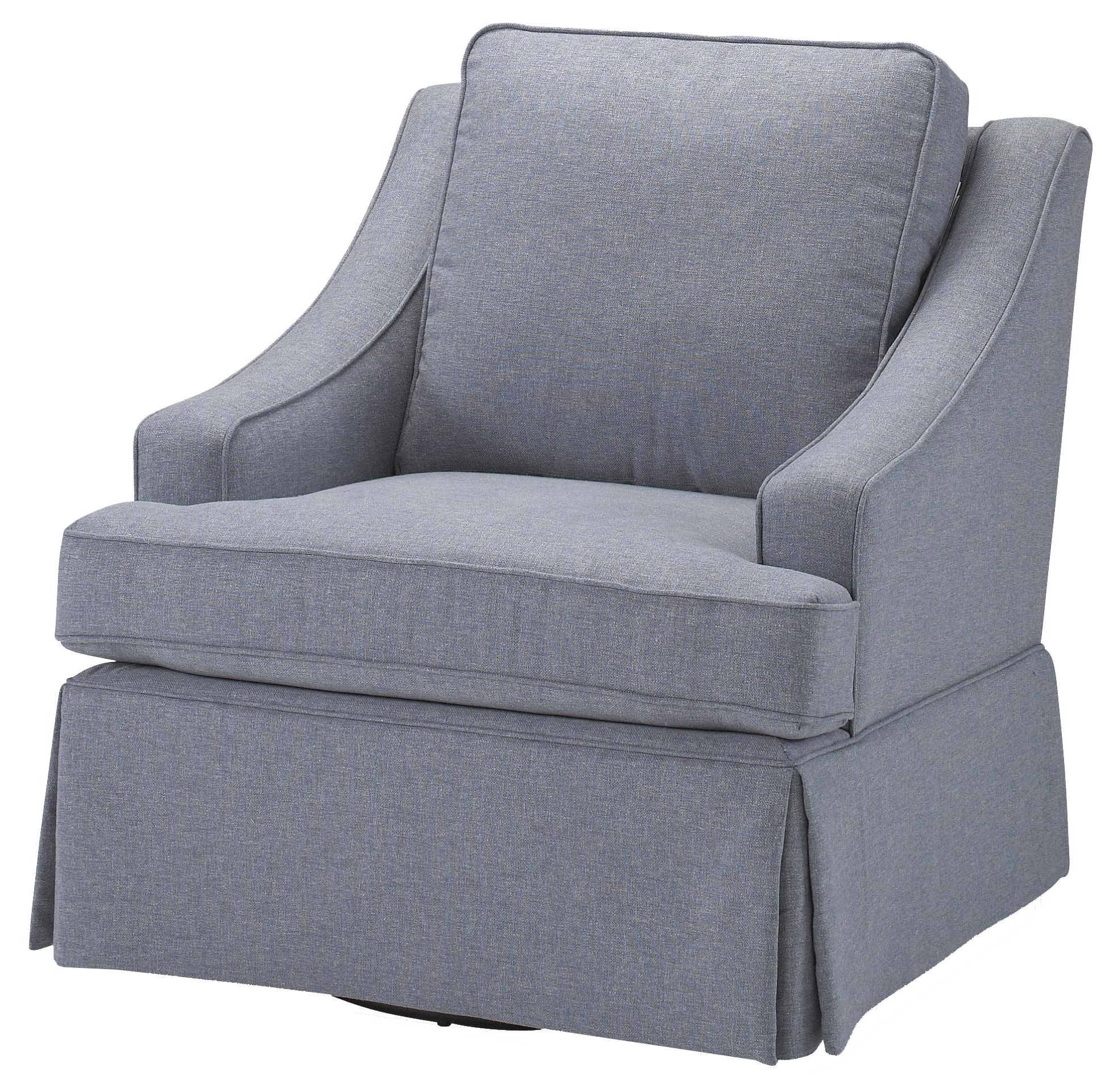Most Recent Swivel Rocking Chairs With Contemporary Ayla Swivel Rocker Chairbest Home Furnishings (View 6 of 20)