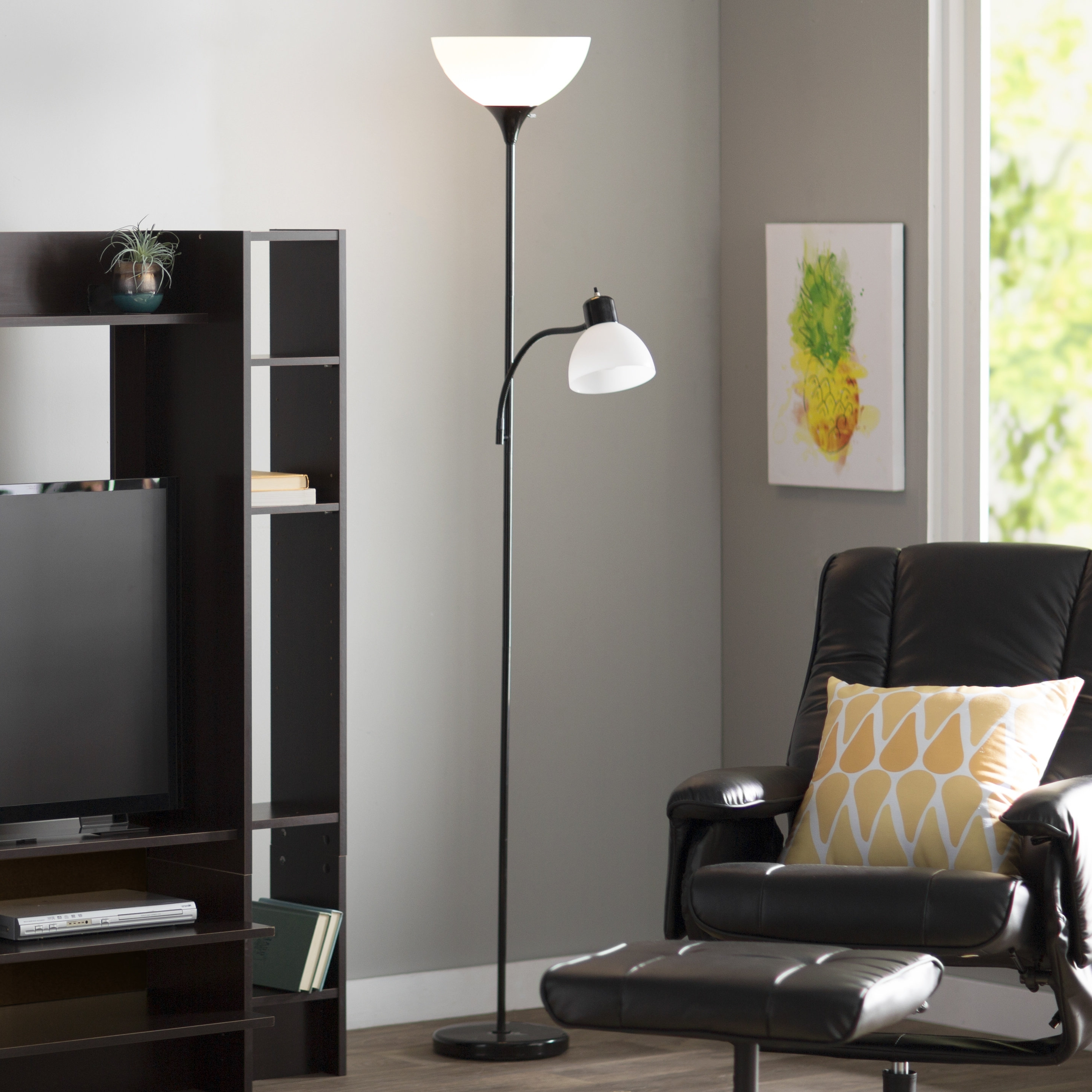 Most Recent White Living Room Table Lamps Regarding Lowes Floor Lamps Wayfair Floor Lamps Floor Lamps At Home Depot (View 8 of 20)