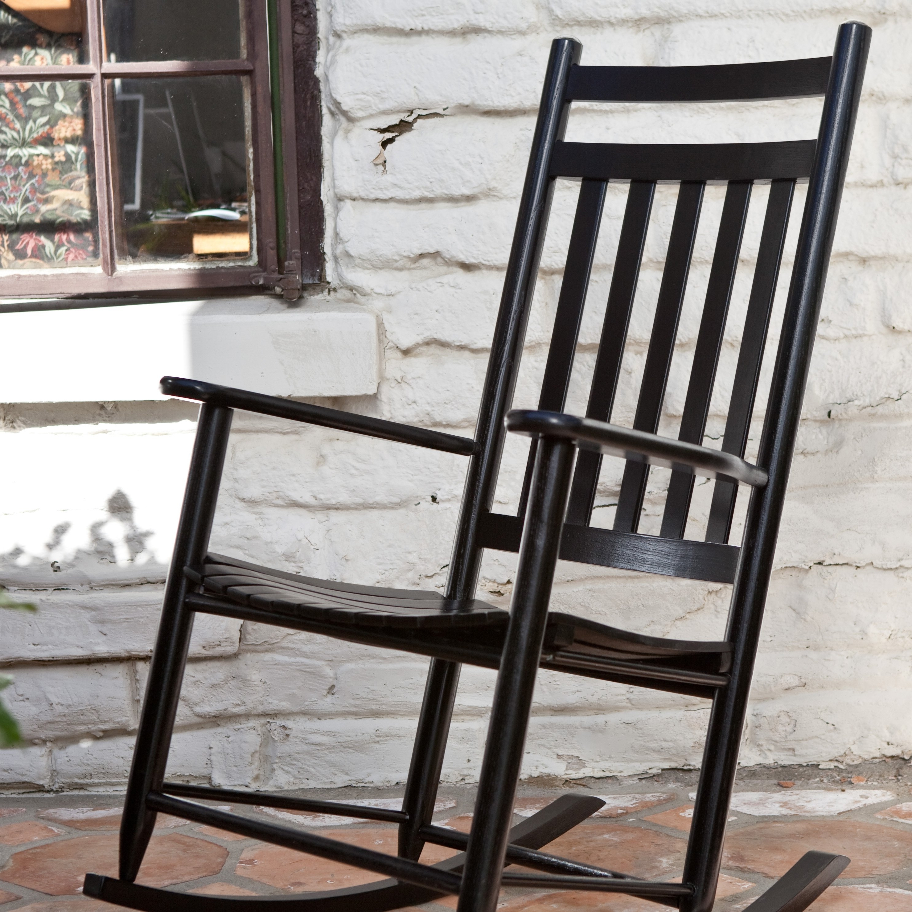 Most Recently Released Black Rocking Chairs Regarding Black Rocking Chairs Dixie Seating Indoor Or Outdoor — The Home (View 20 of 20)