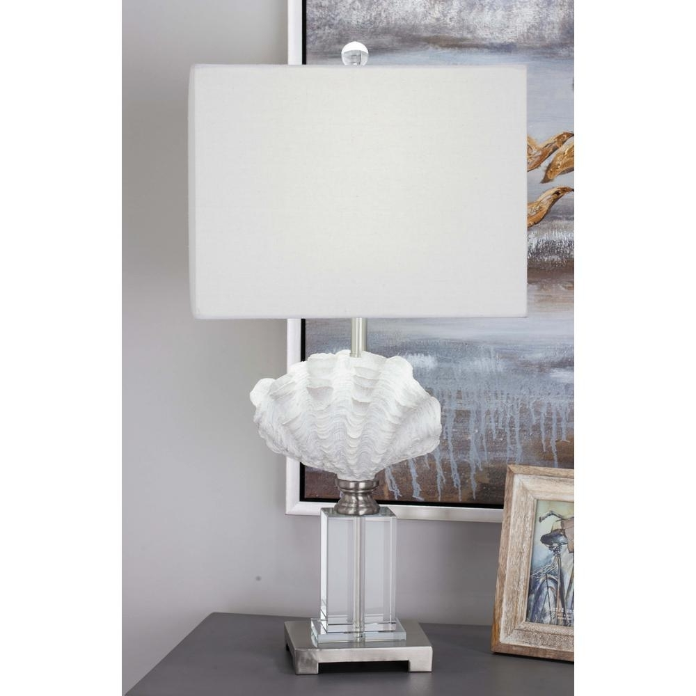 Most Recently Released Living Room Table Lamps At Home Depot With Regard To 28 In (View 14 of 20)