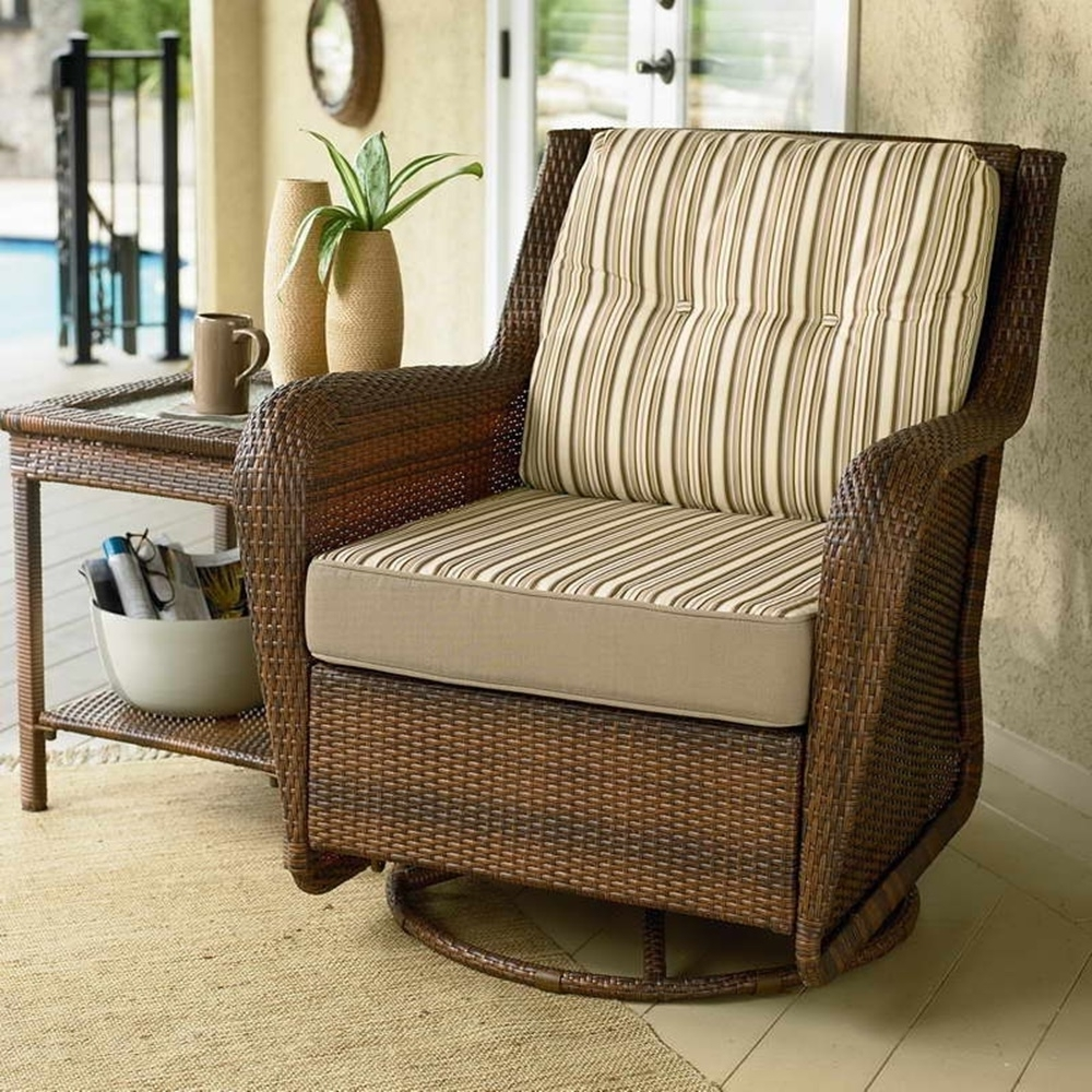 Most Recently Released Patio : Patio Swivel Chairs Sale And Table Rocker On Home For Patio Rocking Swivel Chairs (View 7 of 20)