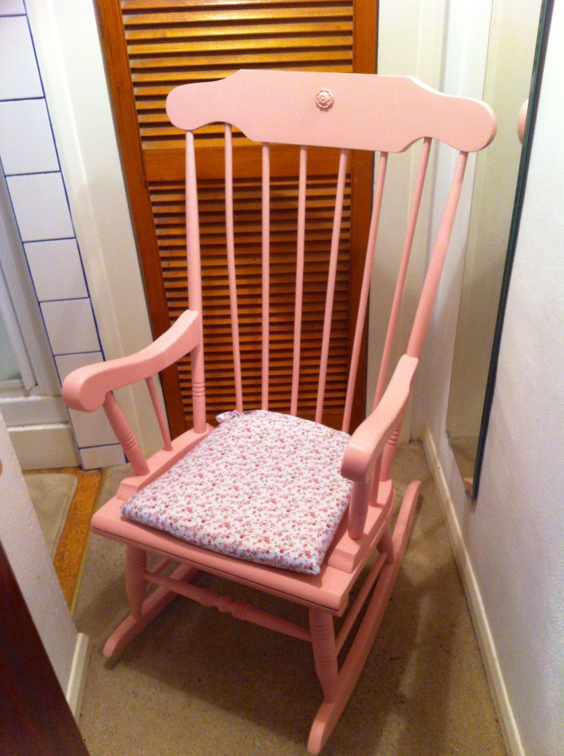 Most Recently Released Pink Rocking Chair, Nursery Www.fluxfurnishings.co (View 11 of 20)