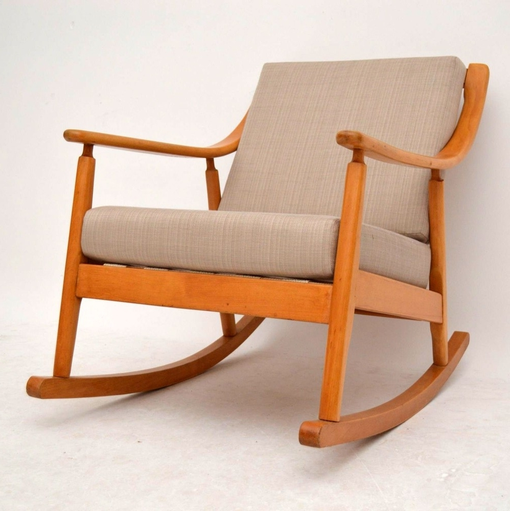 Most Recently Released Retro Rocker Arm Chair – Chair Design Ideas For Retro Rocking Chairs (View 4 of 20)