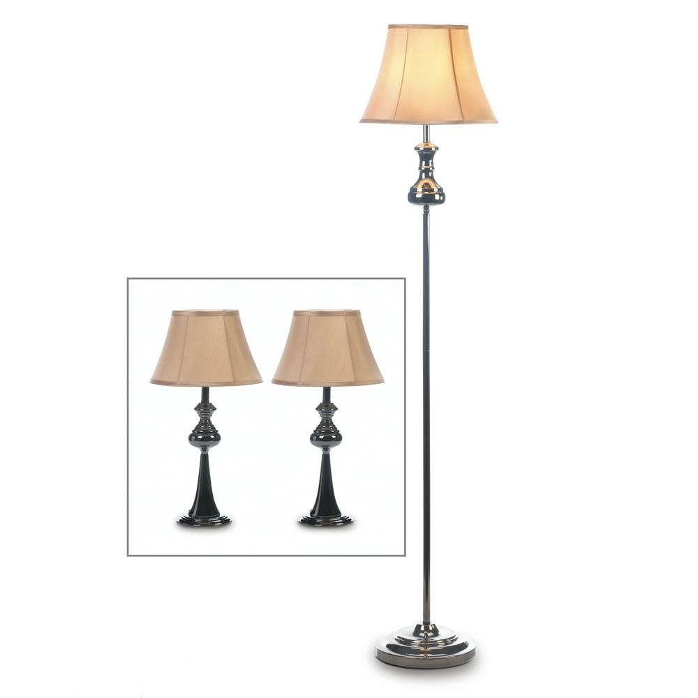 Most Up To Date Floor Lamp With Stand, Metal Table Lamps Set For Living Room – 3 Pertaining To Living Room Table Lamps Sets (View 4 of 20)