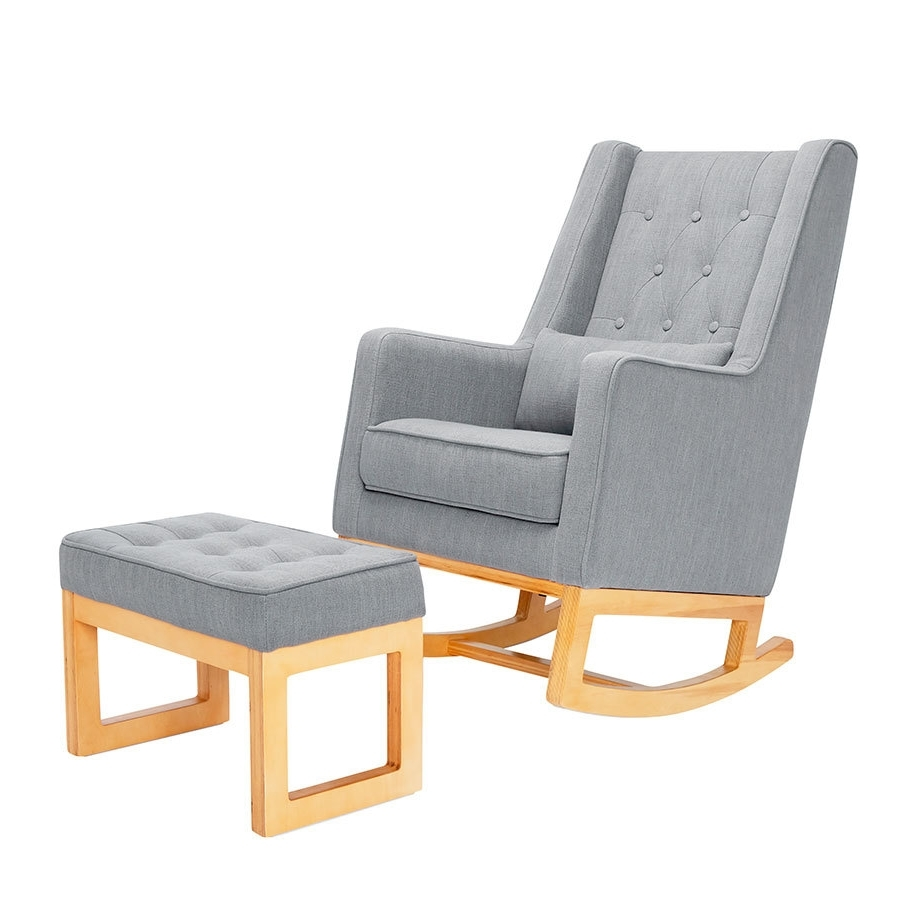 Featured Photo of Rocking Chairs With Ottoman