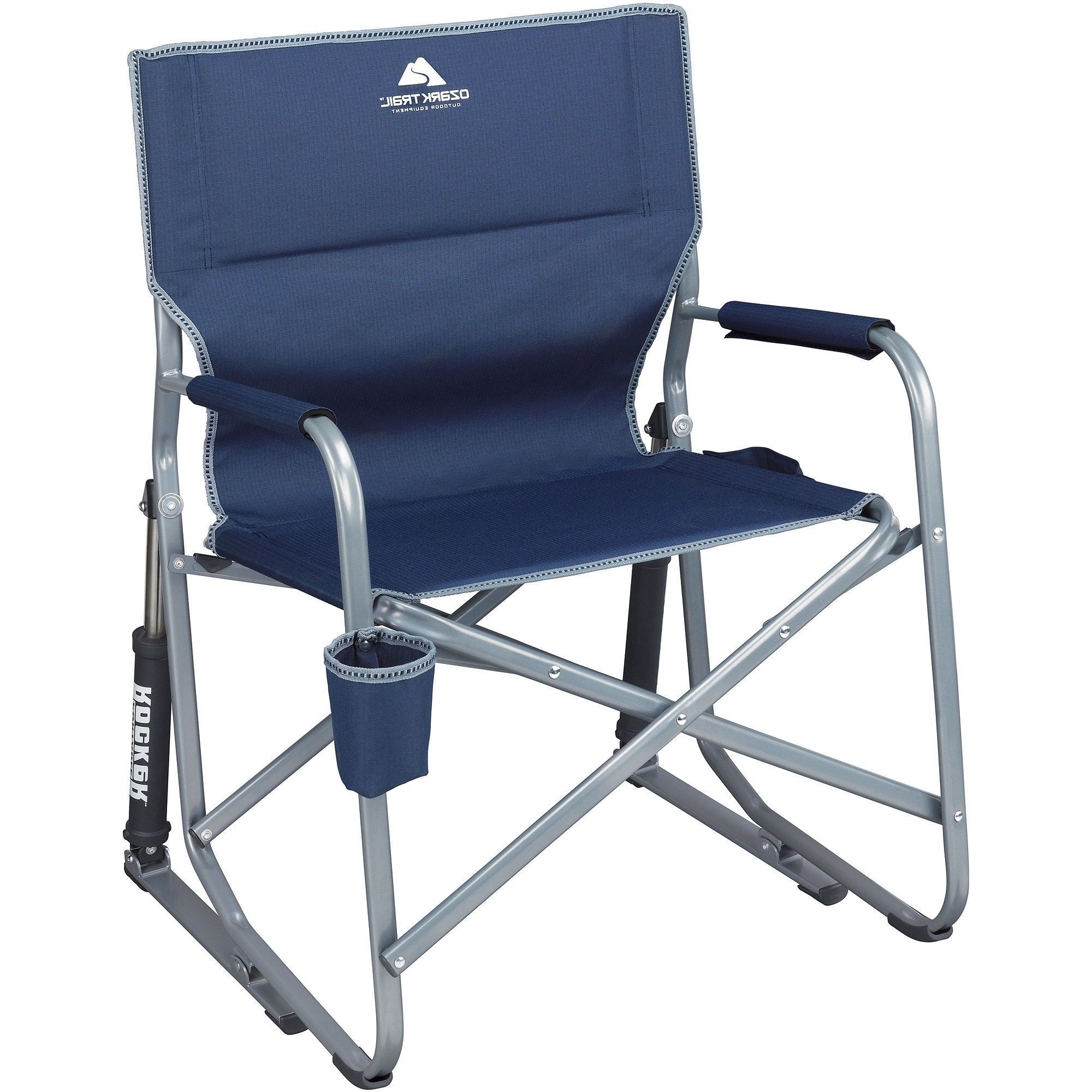 Most Up To Date Ozark Trail Portable Rocking Chair – Walmart With Regard To Folding Rocking Chairs (View 14 of 20)