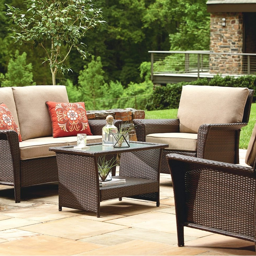 Most Up To Date Patio Conversation Sets At Sears Regarding Patio : Sears Outdoor Patio Furniture Rare Pictures Design Dreaded (View 10 of 20)