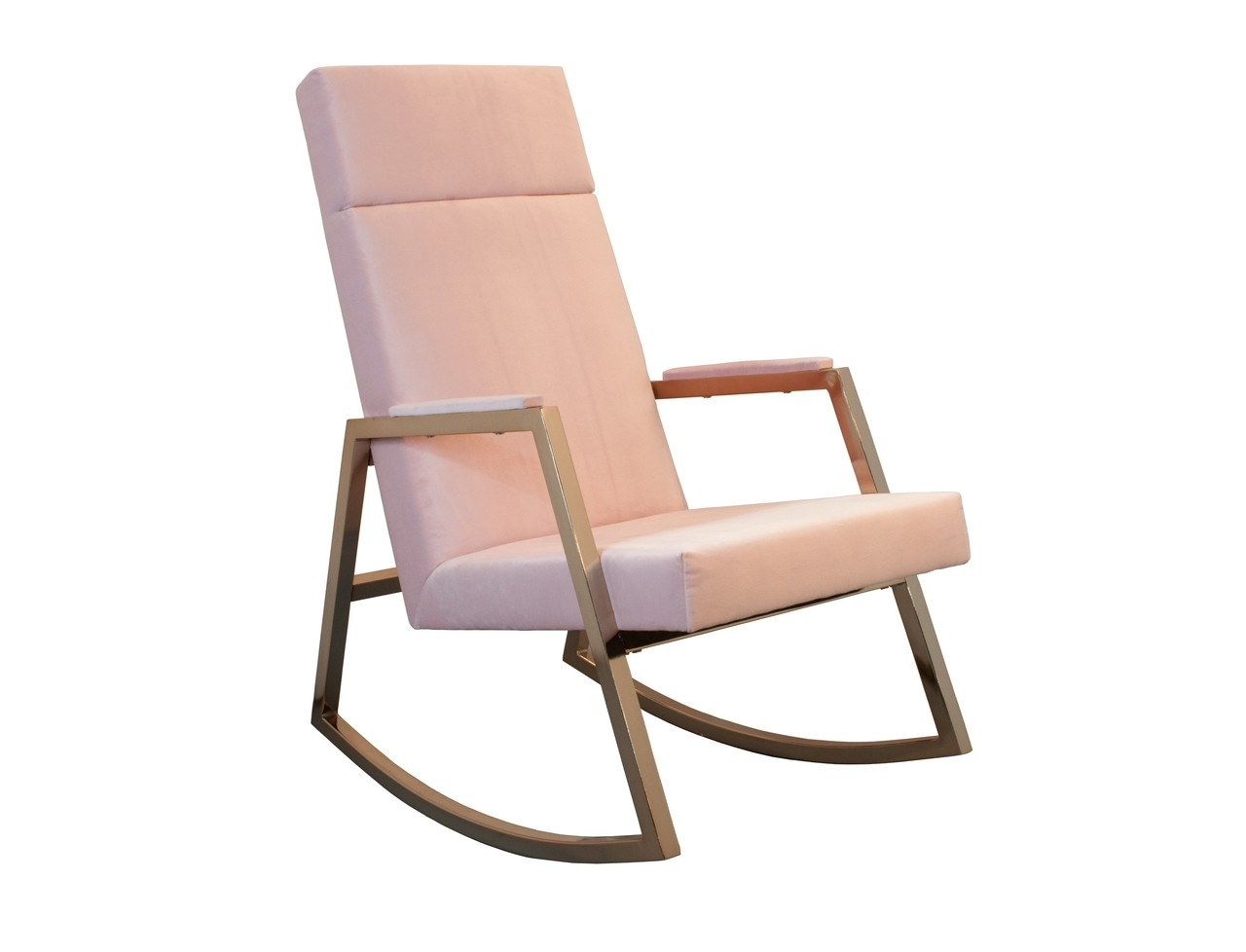 Most Up To Date Rocking Chairs Adelaide Intended For Blush Pink Rockerincy Interiors And Hobbe (View 4 of 20)