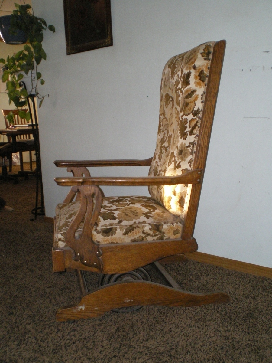 Most Up To Date Rocking Chairs With Springs Inside A.h (View 8 of 20)