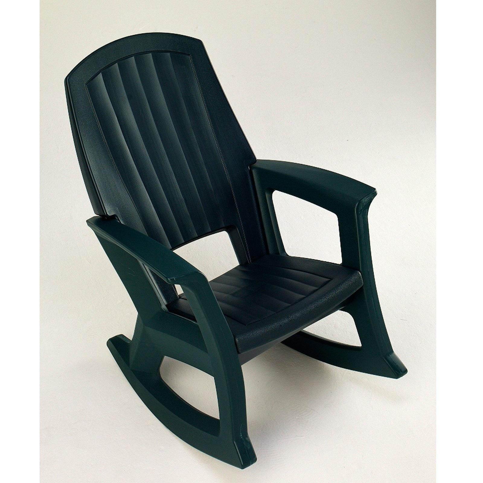 Most Up To Date Small Patio Rocking Chairs Pertaining To Semco Recycled Plastic Rocking Chair – Walmart (View 7 of 20)