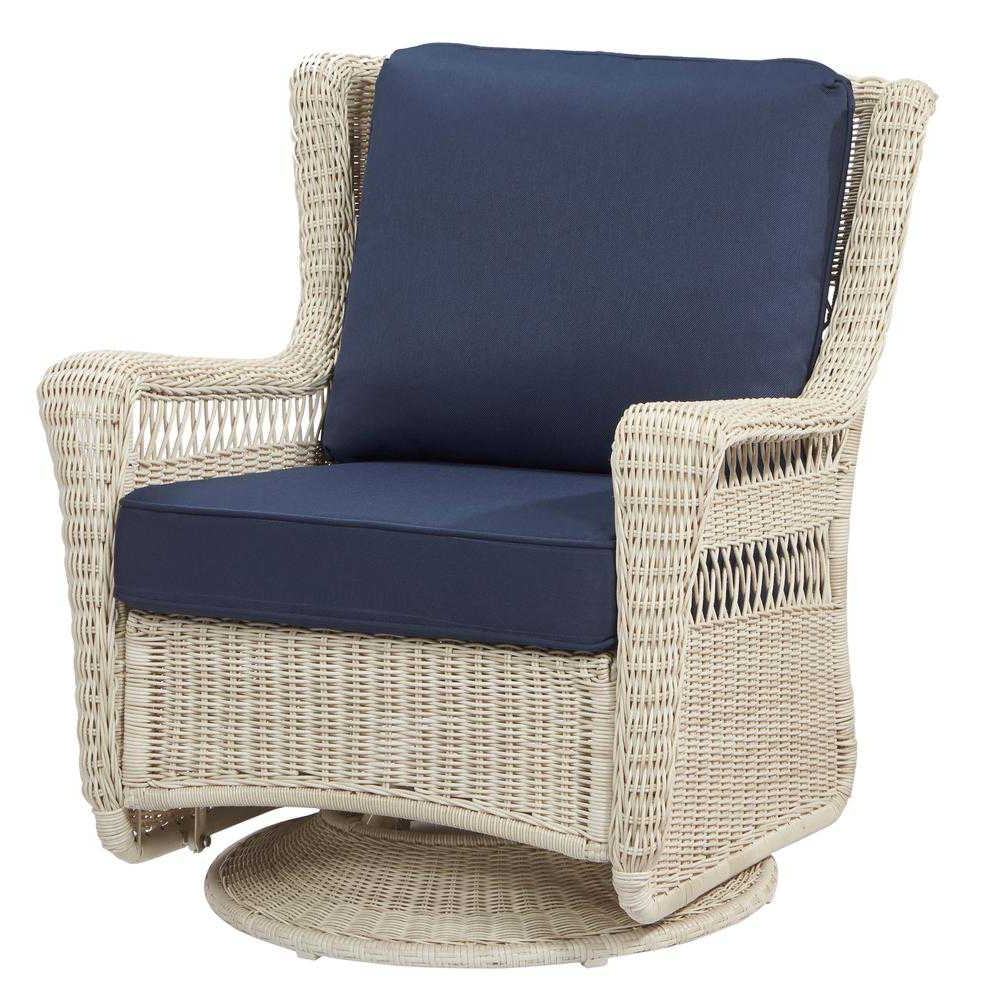 Most Up To Date Wicker Swivel Rocker Patio Chairs Images Hampton Bay Outdoor Lounge In Hampton Bay Rocking Patio Chairs (View 8 of 20)