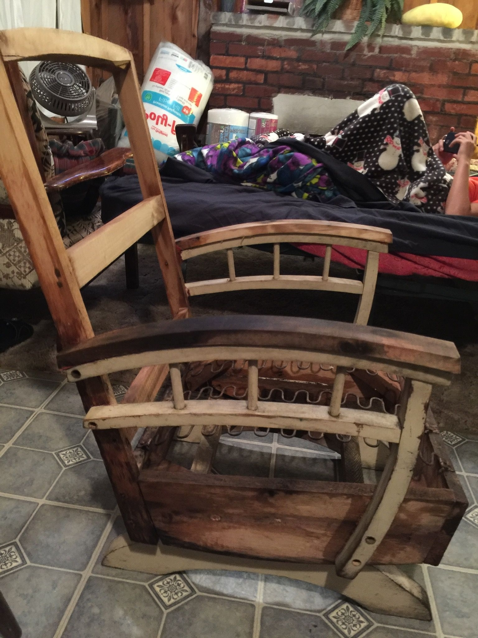 Most Up To Date Zen Rocking Chairs Regarding Naked Chair! Stripped Down To Bare Bones! On Vacation In Maine (View 8 of 20)