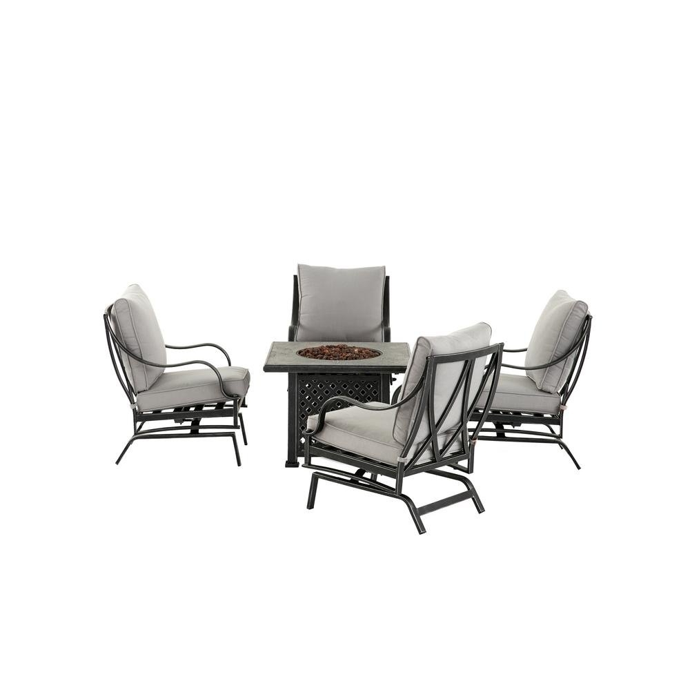 New Outdoor Intended For 5 Piece Patio Conversation Sets (Gallery 19 of 20)
