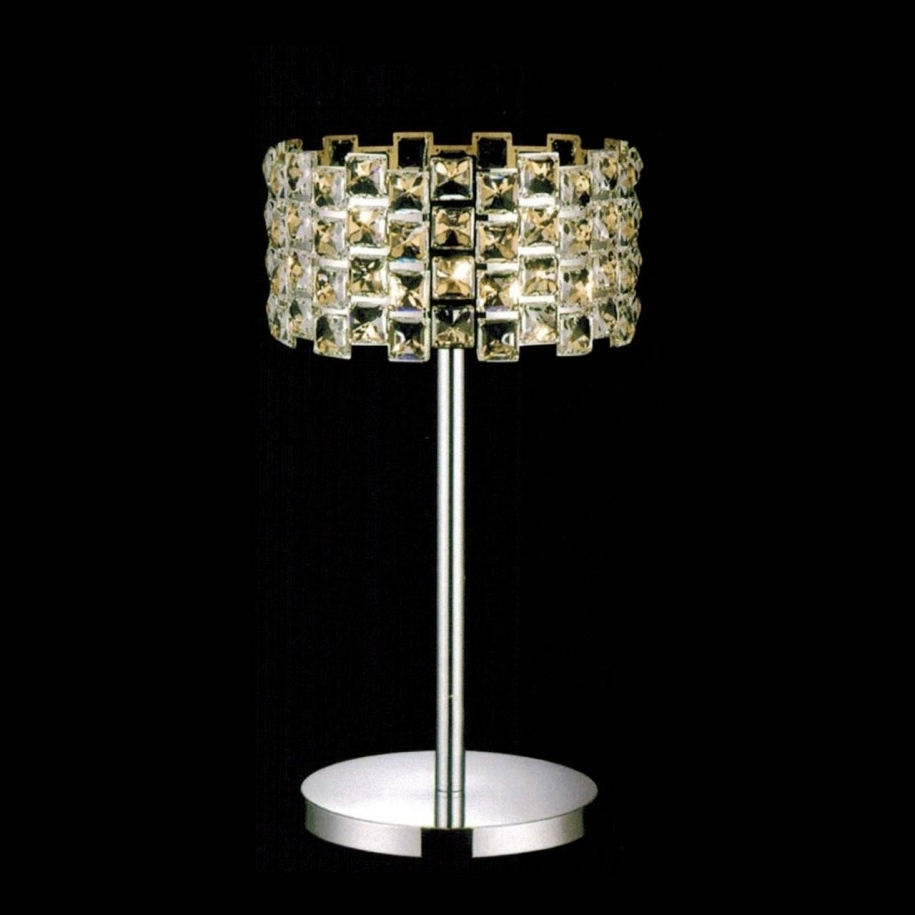 Newest Crystal Living Room Table Lamps Regarding Furniture: Astounding Lighting Furniture Decoration For Living Room (View 20 of 20)
