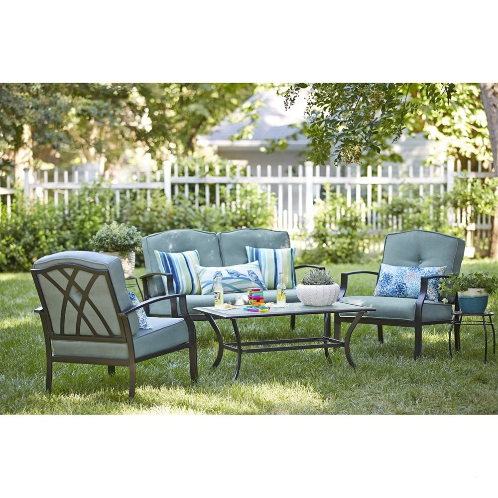Newest Garden Treasures Patio Conversation Sets Pertaining To Garden Treasures Patio Furniture – Attractive Garden Treasures (Gallery 5 of 20)