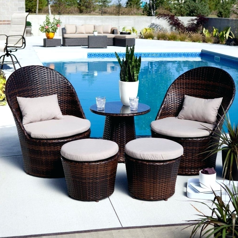 Newest Patio Ideas ~ Blue Patio Conversation Set Blue Metal Patio Furniture Pertaining To Small Patio Conversation Sets (View 18 of 20)