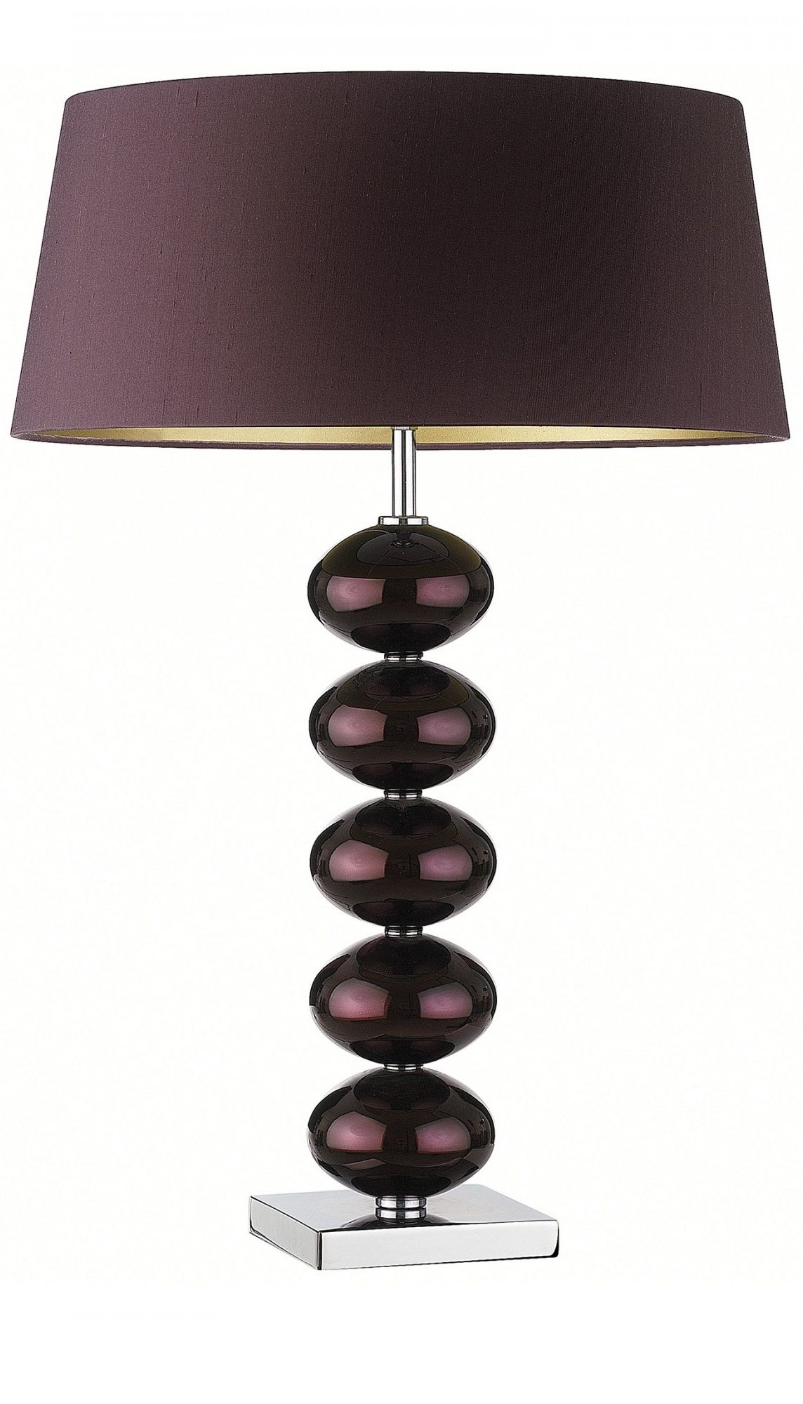 "Newest Purple"" Purple Table Lamp, Table Lamps, Modern Table Lamps Regarding Purple Living Room Table Lamps (View 5 of 20)"