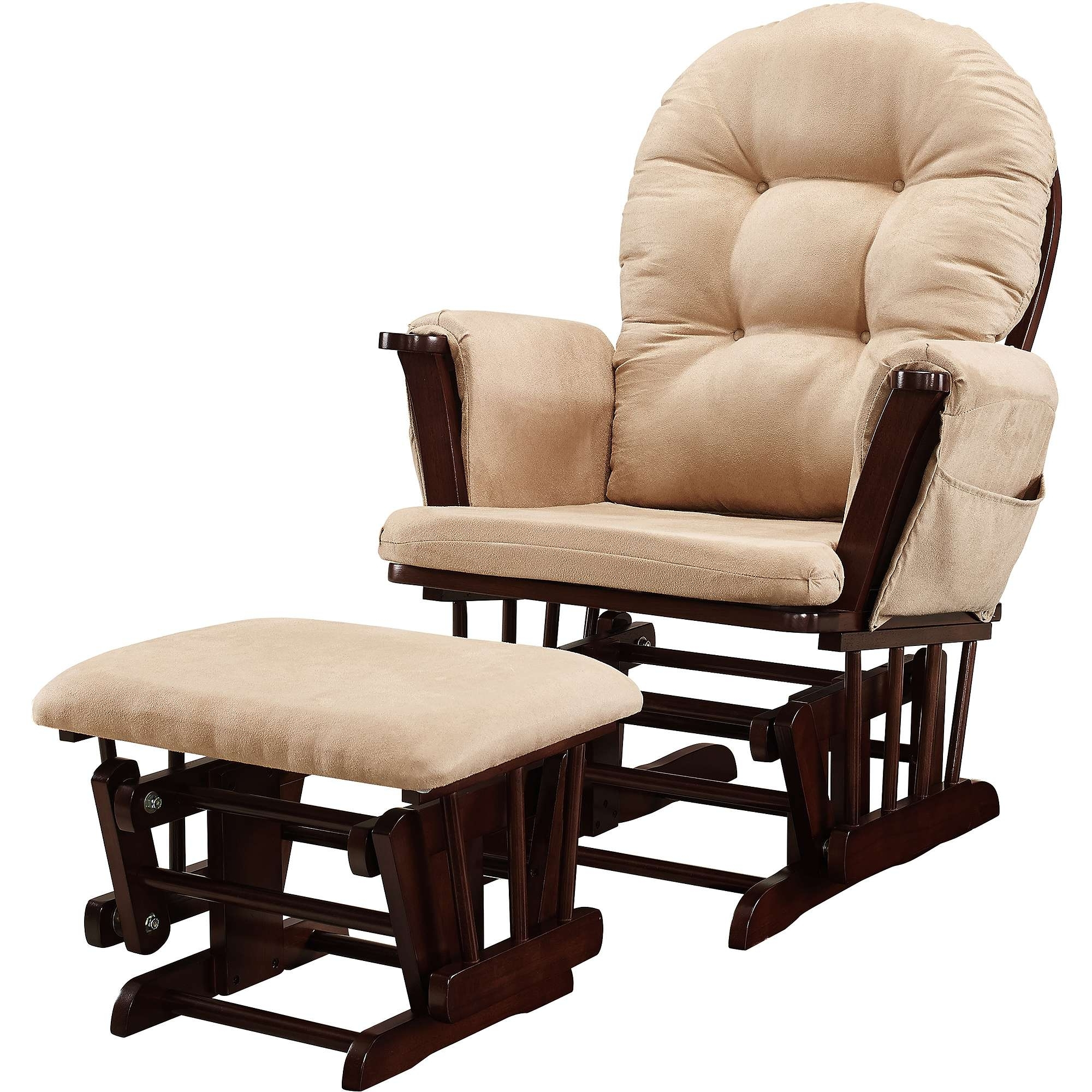Newest Walmart Rocking Chairs For Glider Rocking Chair Cushions Lovely Walmart Glider Chair Cushions (View 11 of 20)