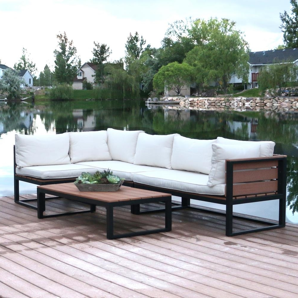 Newest White – Patio Conversation Sets – Outdoor Lounge Furniture – The In Patio Conversation Sets Under $ (View 9 of 20)