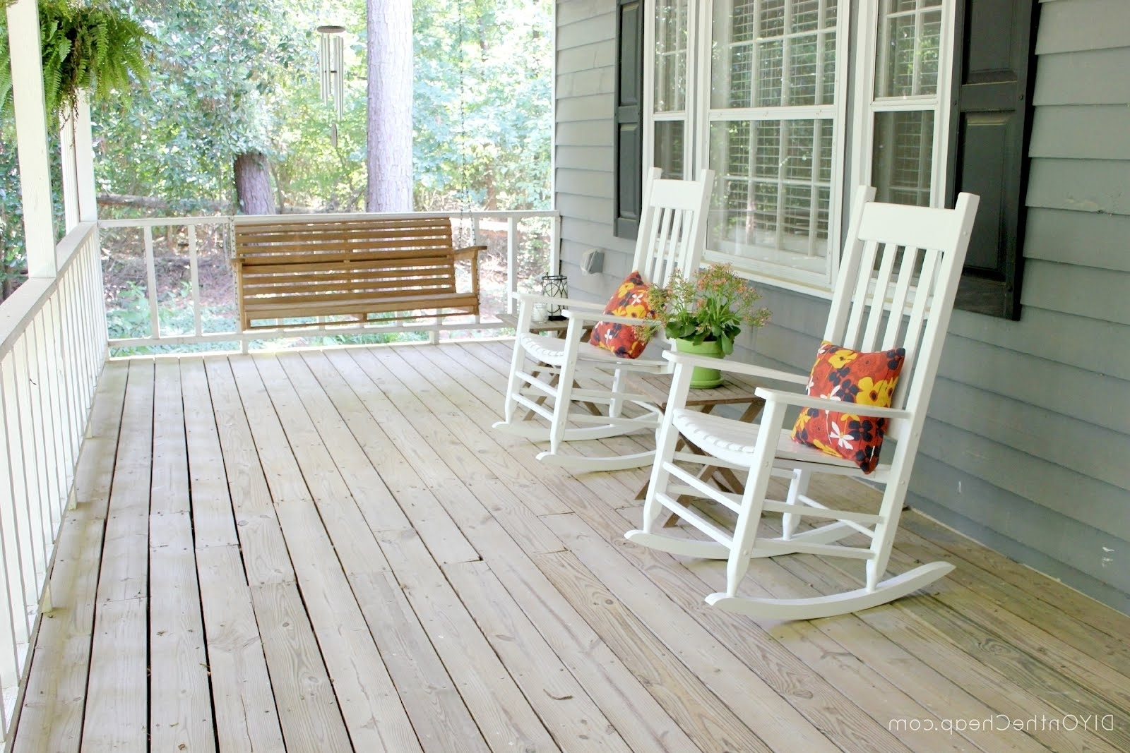 Newest White Patio Rocking Chairs Inside Living Room Furniture Astounding Rocking Chair Front Porch Is Like (Gallery 13 of 20)