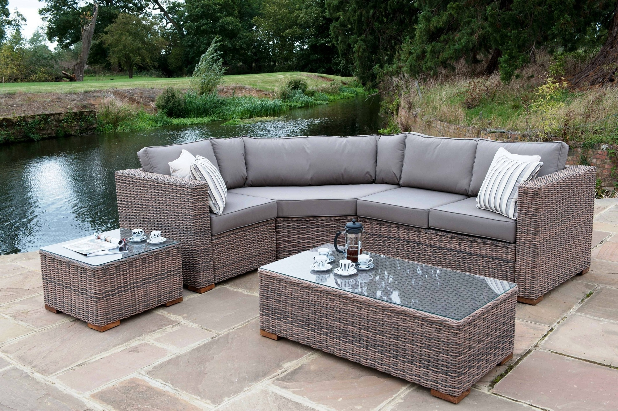Nfm Patio Conversation Sets Within Most Up To Date Luxury Wicker Patio Furniture : Sathoud Decors – Repaint Wicker (View 16 of 20)