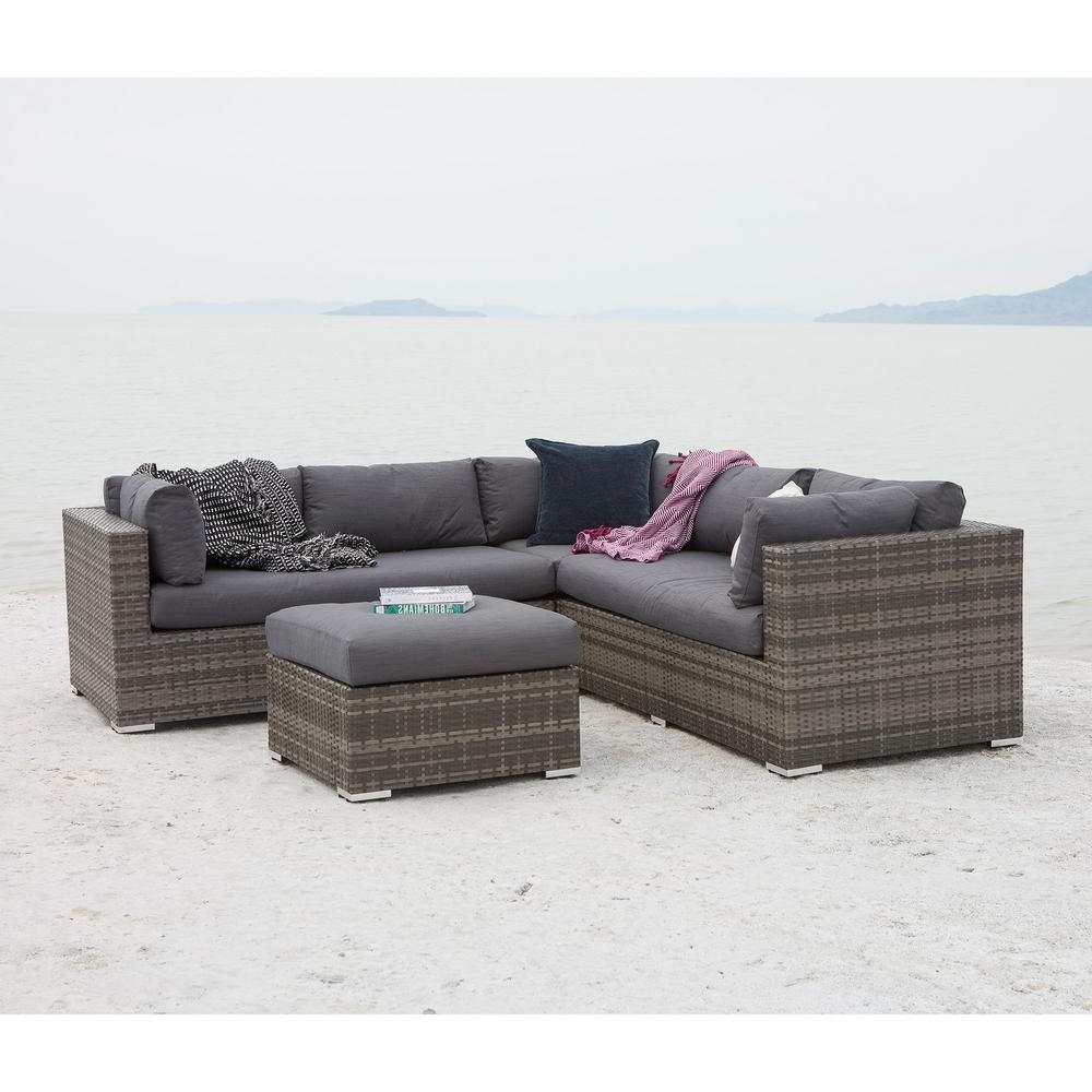 Ottoman – Patio Conversation Sets – Outdoor Lounge Furniture – The Pertaining To Widely Used Patio Conversation Sets With Storage (View 9 of 20)