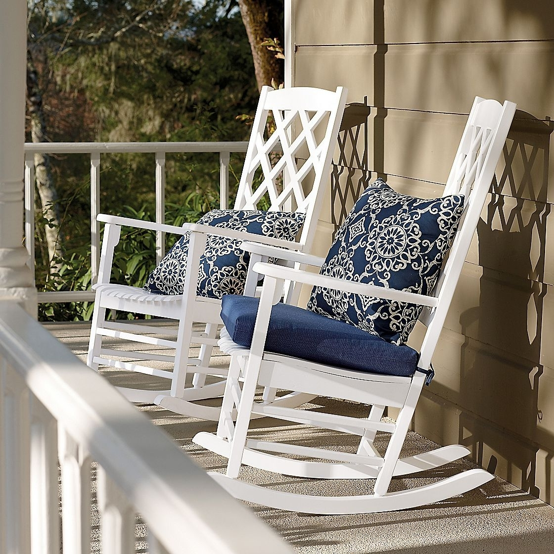 Our Rocking Chairs To Grow Old In And Watch The Kids Play :) (View 9 of 20)