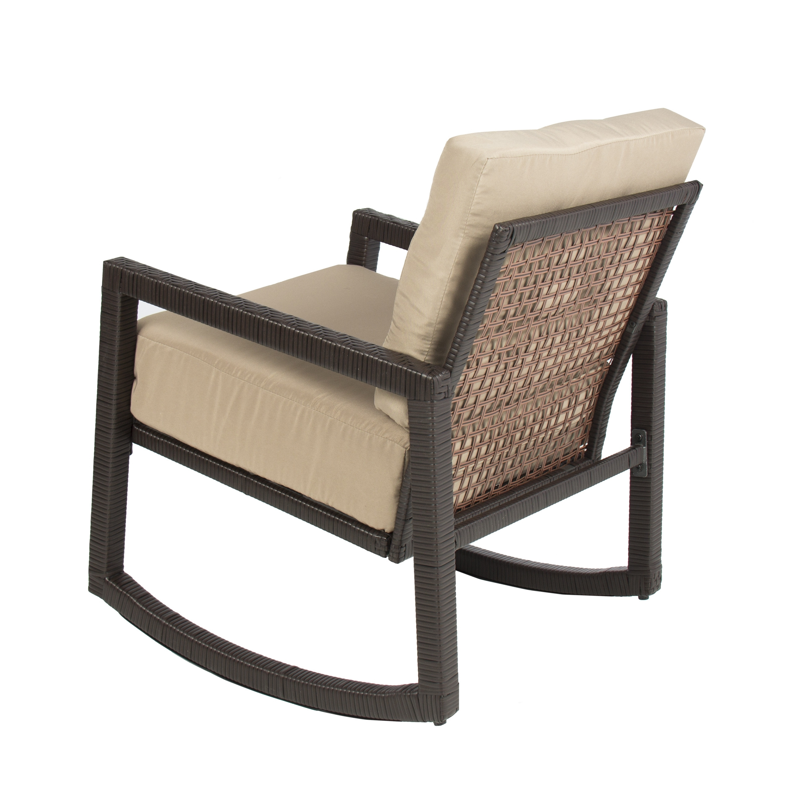 Outdoor Furniture Rocking Chairs Best Of Wicker Chair With Cushion Throughout Current Outdoor Wicker Rocking Chairs With Cushions (View 10 of 20)