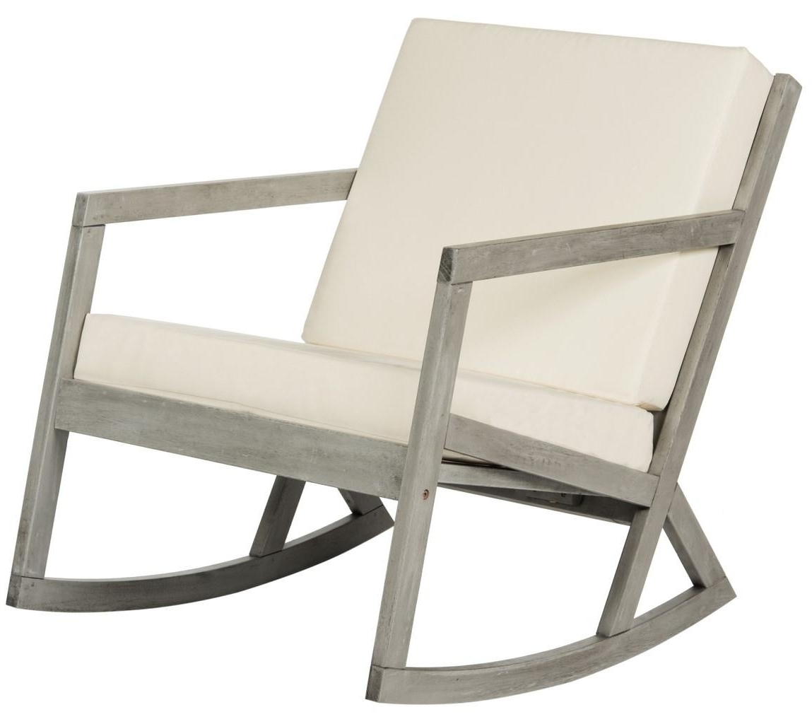 Outdoor Rocker – Safavieh For Trendy Padded Patio Rocking Chairs (View 8 of 20)