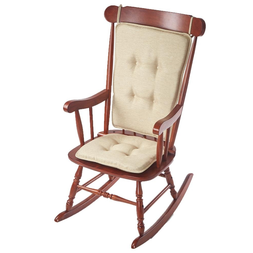 Outdoor Rocking Chair Cushion Sets – Outdoor Designs Inside Current Rocking Chair Cushions For Outdoor (View 10 of 20)
