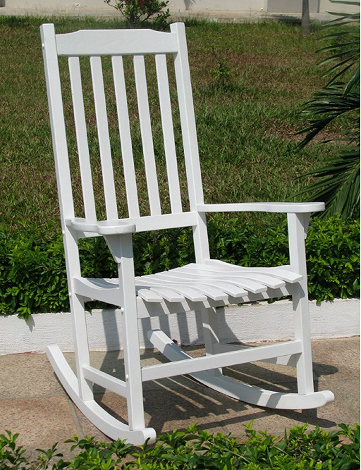 Outdoor Vinyl Rocking Chairs In Latest Patio & Garden : Rocking Chairs For Outdoors Amazing Amazon Merry (View 11 of 20)