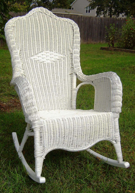 Outdoor Wicker Rocking Chair Set – Outdoor Designs For Newest Outdoor Wicker Rocking Chairs (View 6 of 20)