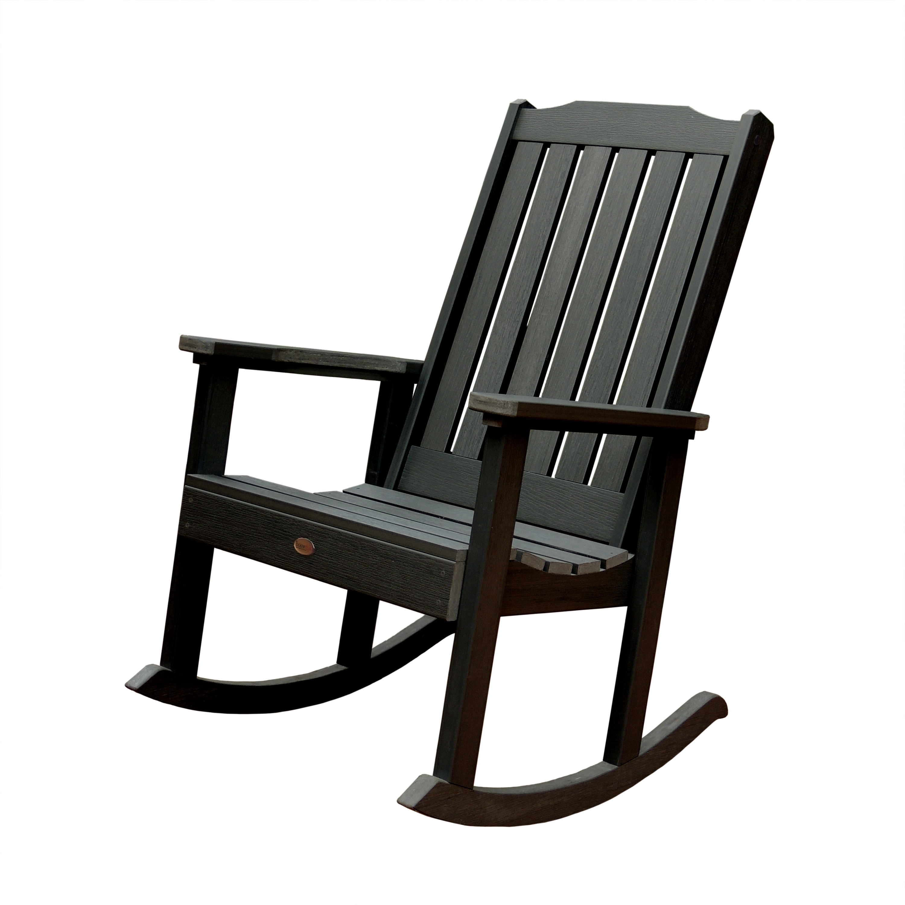 Oversized Patio Rocking Chairs Throughout Best And Newest Shop Highwood Eco Friendly Synthetic Wood Lehigh Rocking Chair (View 14 of 20)
