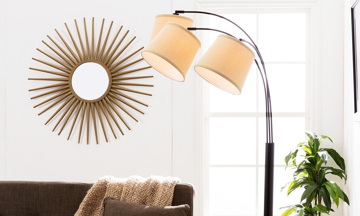 Overstock Living Room Table Lamps With Regard To Current These 3 Floor Lamps Will Brighten Up Your Home Decor – Overtsock (View 15 of 20)