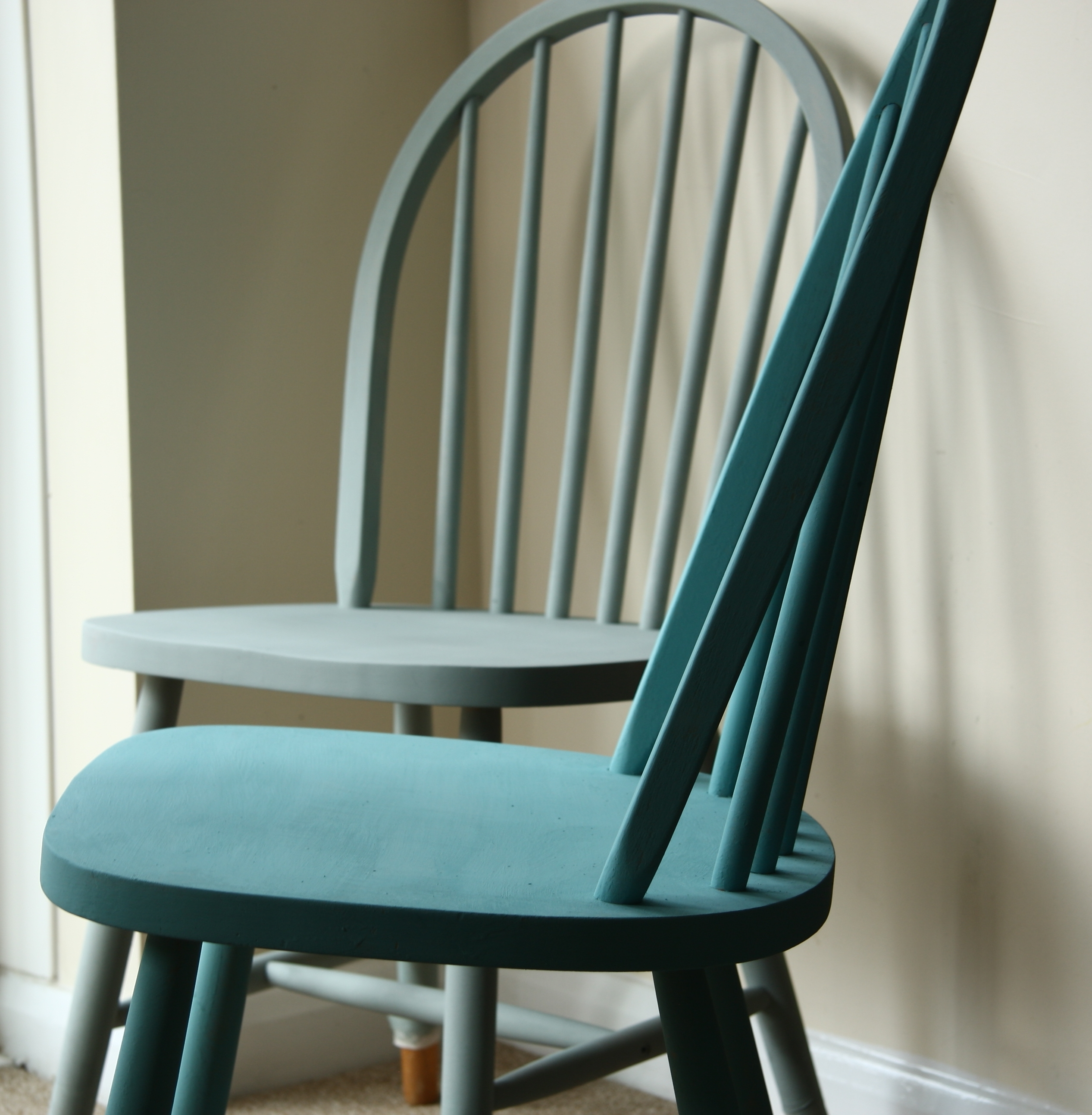 Painted Kitchen Table Chairs – Rascal & Roses Inside Favorite Rocking Chairs At Roses (View 10 of 20)