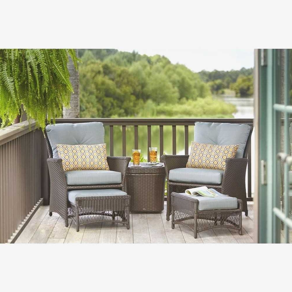 Patio Conversation Set With Ottoman – Patio Designs With Regard To Recent Patio Conversation Sets With Ottoman (View 8 of 20)