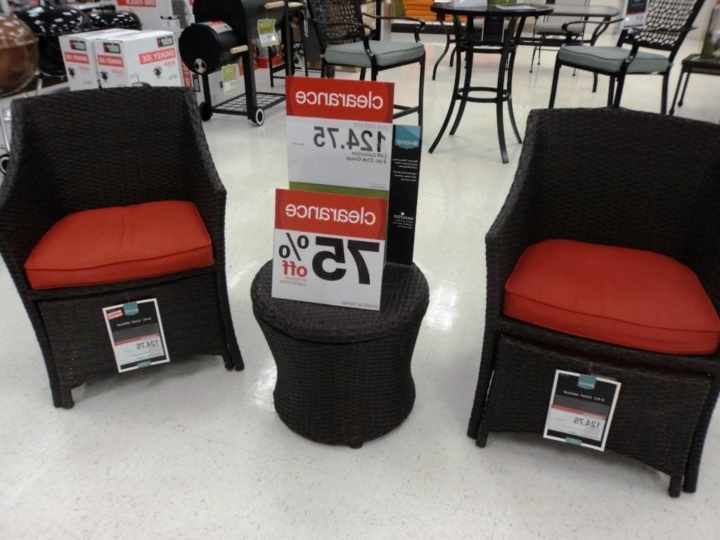 Patio Conversation Sets At Lowes For Best And Newest Decor Of Clearance Patio Furniture Sets Lowes Patio Furniture (View 12 of 20)