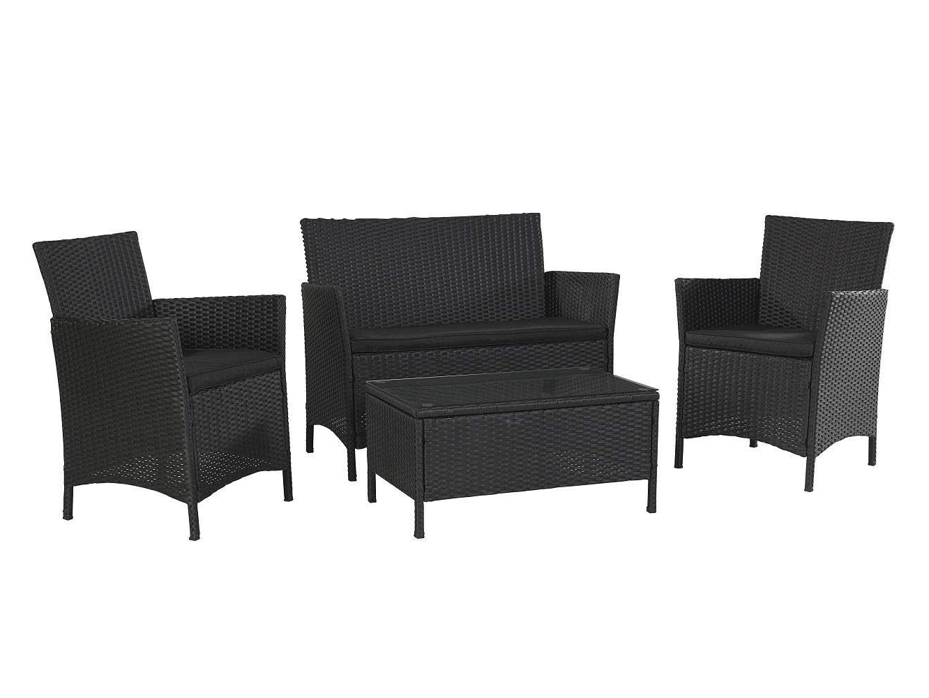 Patio Conversation Sets At Lowes With Regard To Recent Rattan Conversation Set Lowes Patio Furniture Outdoor Fire Pit (View 19 of 20)