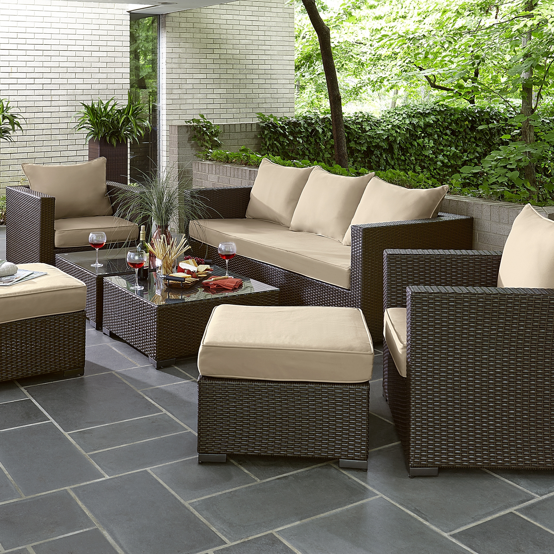 Patio Conversation Sets At Sears For Trendy Sears Outdoor Furniture Cushions – Outdoor Designs (View 12 of 20)