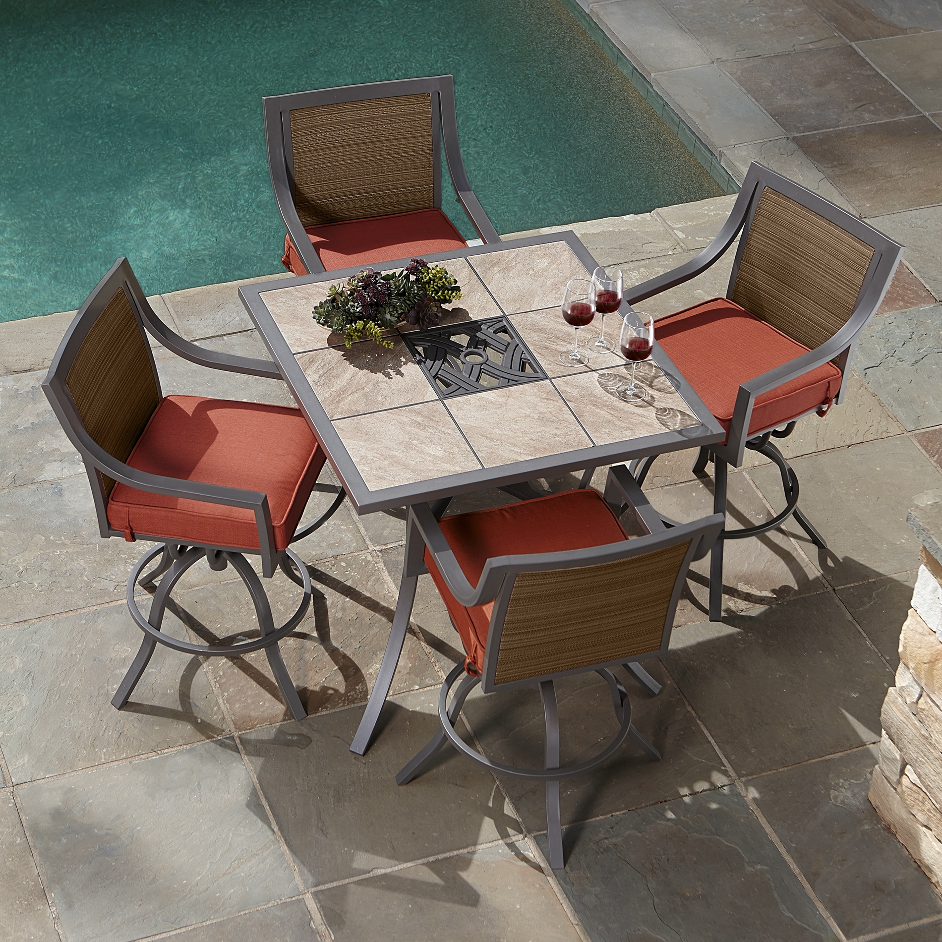 Patio Conversation Sets At Sears Throughout 2018 Furniture: Ty Pennington Outdoor Furniture (View 15 of 20)