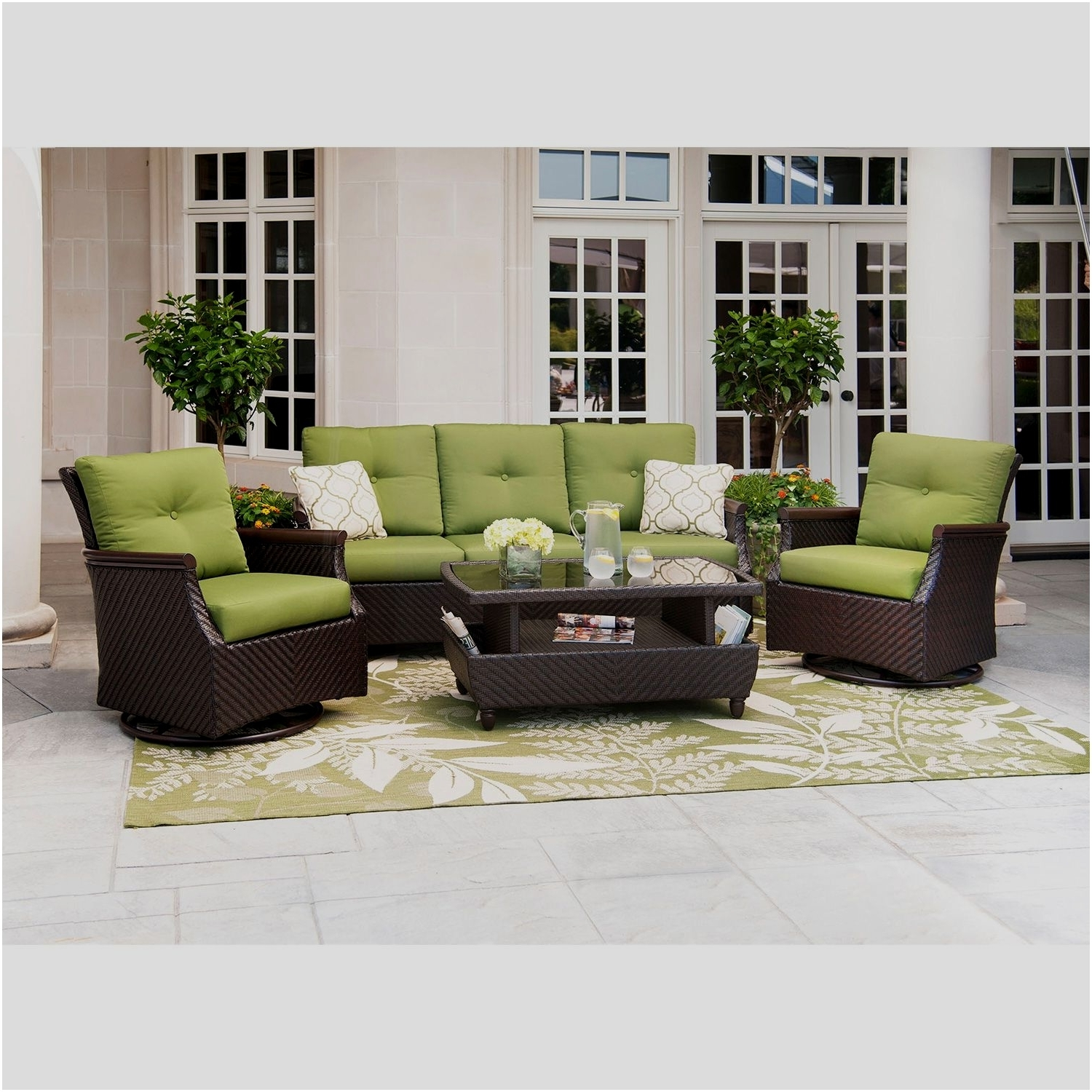 Photos Of Patio Conversation Sets For Small Spaces Showing 17 Of 20