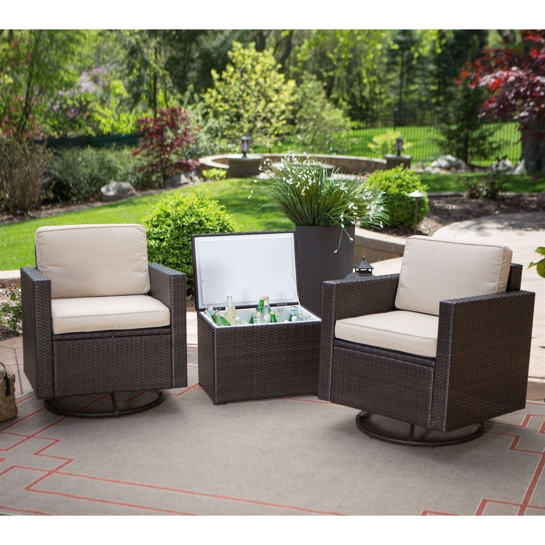 Patio Conversation Sets Under $400 Inside 2019 10 Most Stylish 3 Piece Patio Furniture Set Under 100 Bucks (View 9 of 20)