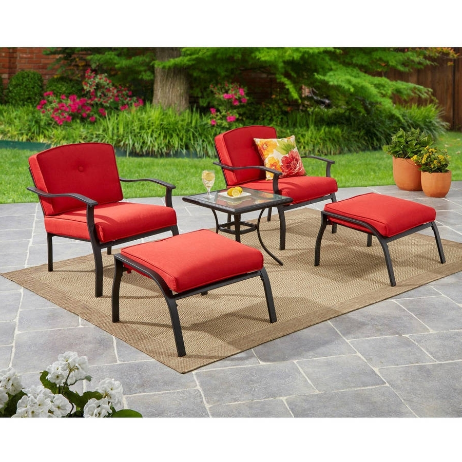 Patio Conversation Sets Under $400 Regarding Recent Patio Furniture – Walmart (View 16 of 20)