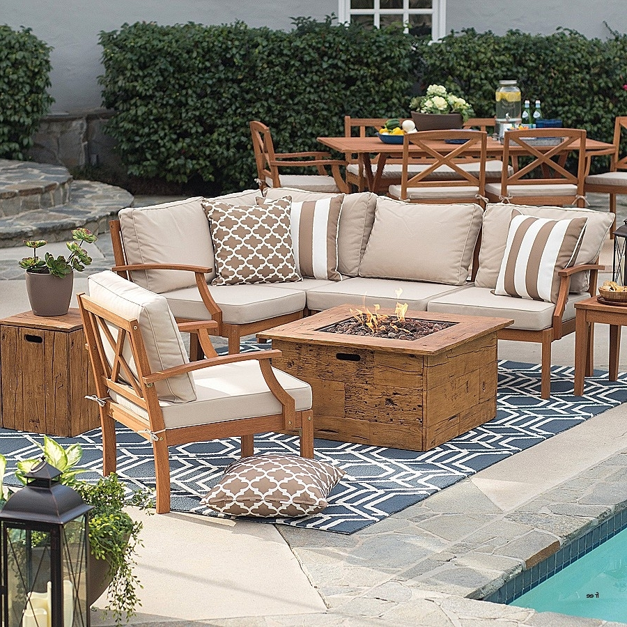 Patio Conversation Sets With Fire Table For Recent Patio Conversation Sets Costco Wicker Conversation Set Target Patio (View 11 of 20)