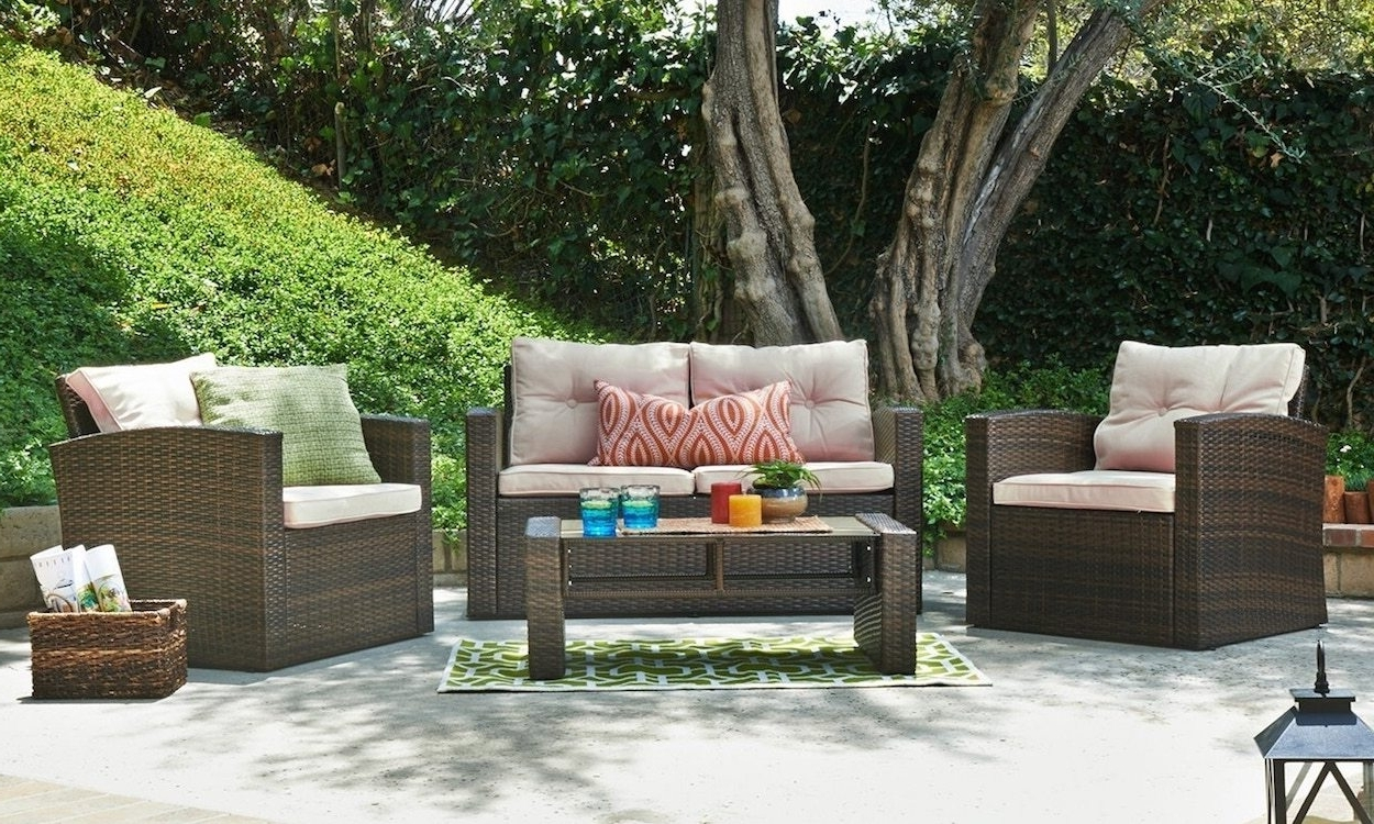 Patio Conversation Sets With Storage For Most Current How To Properly Maintain Patio Furniture – Overstock (View 13 of 20)
