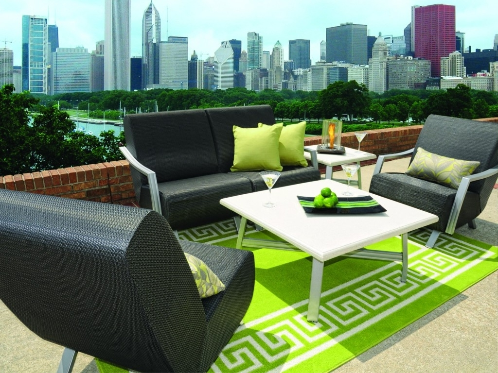Patio Conversation Sets Without Cushions With Regard To Latest Furniture Ideas: Ideas Patio Furniture Cushions With Two Green (View 12 of 20)